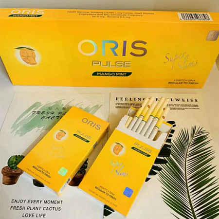 ORIS豪利时芒果爆珠好抽吗,多少钱一盒?