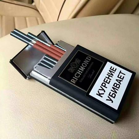 俄罗斯大富豪自动弹烟好抽吗?多少钱?