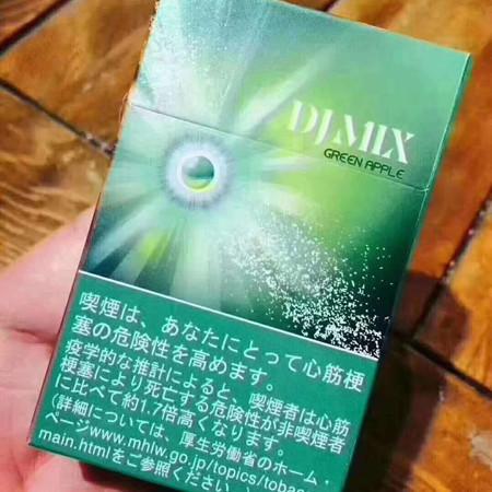 djmix苹果味有爆珠吗?好抽吗?